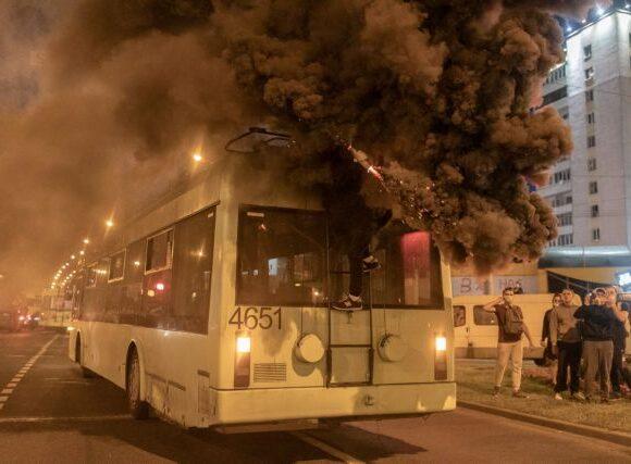 Λευκορωσία: Και τρίτος νεκρός διαδηλωτής – Κατέληξε έπειτα από πυρά της αστυνομίας
