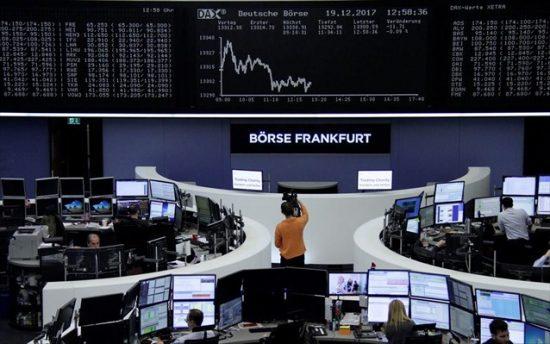 Μικρή άνοδος στις ευρωαγορές εν αναμονή των PMI