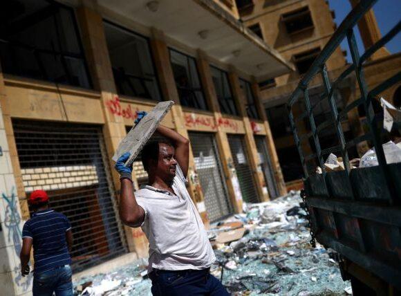 «Παραιτηθείτε ή κρεμαστείτε» – Οργή διαδηλωτών στη Βηρυτό κατά της κυβέρνησης
