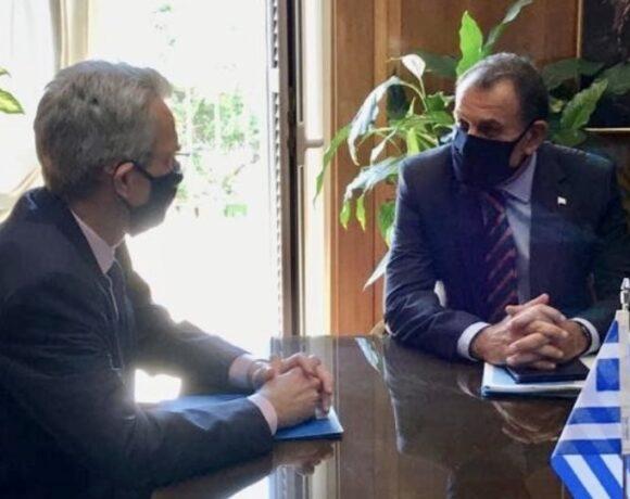 Συνάντηση Παναγιωτόπουλου – Πάιατ με επίκεντρο τα ελληνοτουρκικά