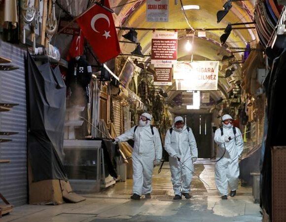 Τουρκία – Κοροναϊός : 5.844 νεκροί και 240