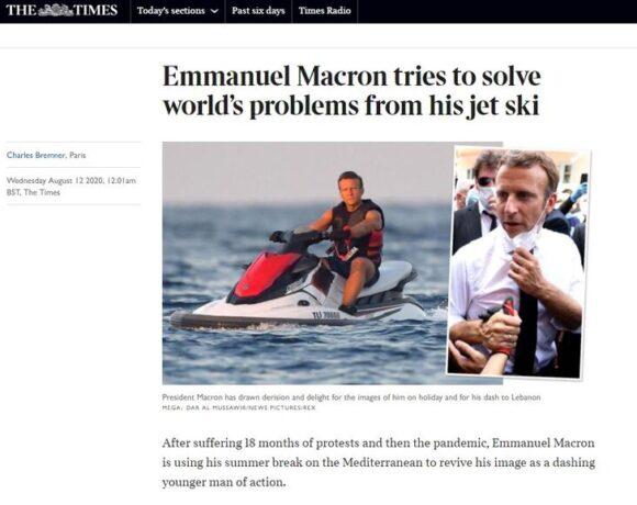 Τουρκικά ΜΜΕ «τρολάρουν» Μακρόν… μέσω Βρετανίας