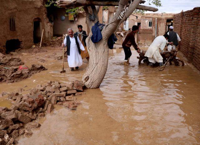 Τραγωδία στο Αφγανιστάν: 15 παιδιά έχασαν τη ζωή τους από πλημμύρα