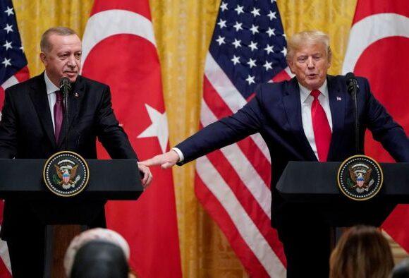 Τραμπ: Έχουμε πάρα πολύ καλές σχέσεις με τον Ερντογάν και την Τουρκία