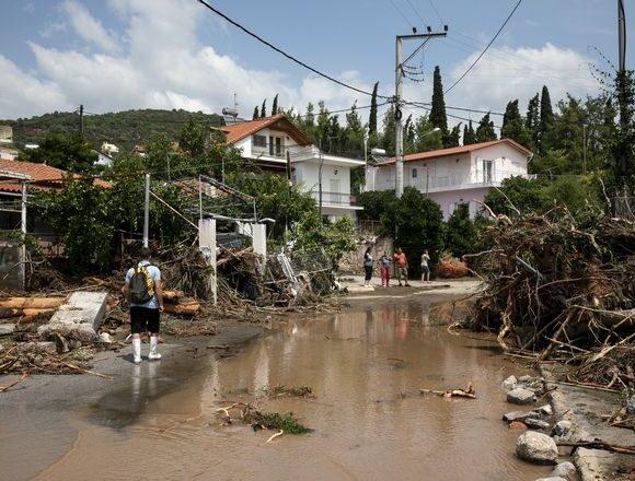 ΥΠΟΙΚ: Αποζημιώσεις για την φυσική καταστροφή στην Εύβοια