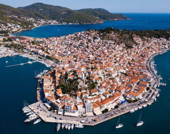Greece's Poros Island Goes into Covid-19 Lockdown