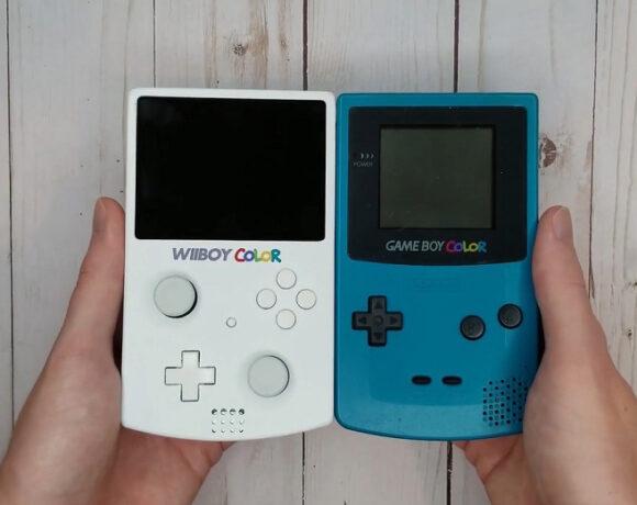 Modder κατασκεύασε ένα Nintendo Wii στο μέγεθος του Game Boy