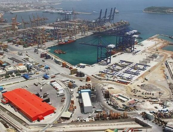 Piraeus Port Container Handling Leader in the Med