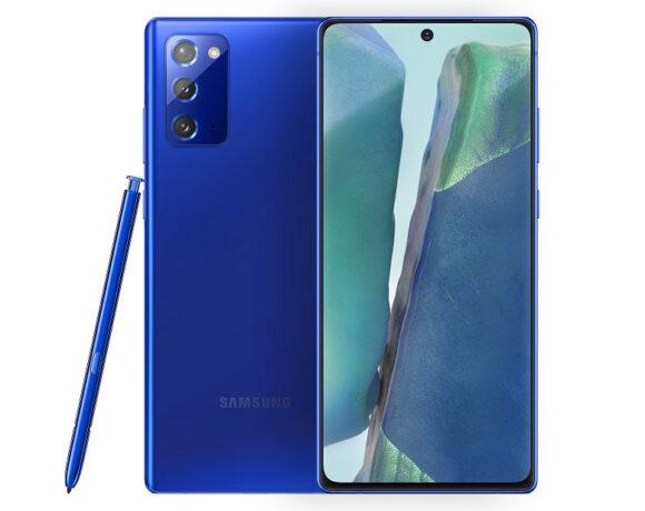Samsung Galaxy Note 20: Κυκλοφορεί και σε Mystic Blue έκδοση, αποκλειστικά στην Ινδία