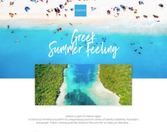 The 'Greek Summer Feeling' Spreads to the World via New Tourism Campaign