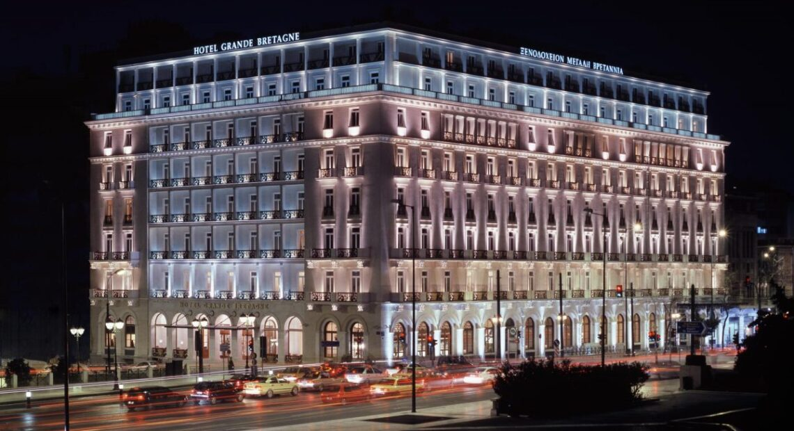 Athens' Hotel Grande Bretagne 'Not for Sale', Says Owner