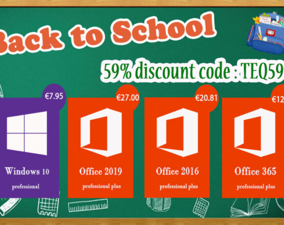 Back to School: Προσφορές σε δημοφιλές λογισμικό Windows 10 Pro με €7.95 και Office 2016 Pro με €20