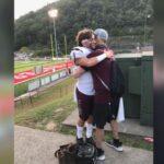 Βίντεο γροθιά στο στομάχι: Είδε τον γιο του να παίζει ποδόσφαιρο λίγο πριν πεθάνει