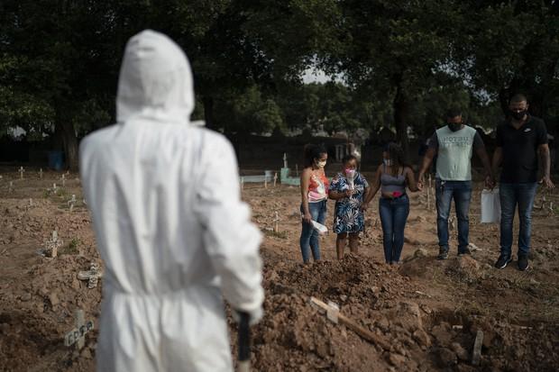 Βραζιλία – Κοροναϊός : 987 νεκροί και 36