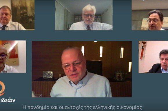 Η ελληνική οικονομία μετά την πανδημία – Τι λένε Καραβίας, Μυτιληναίος, Ρέτσος