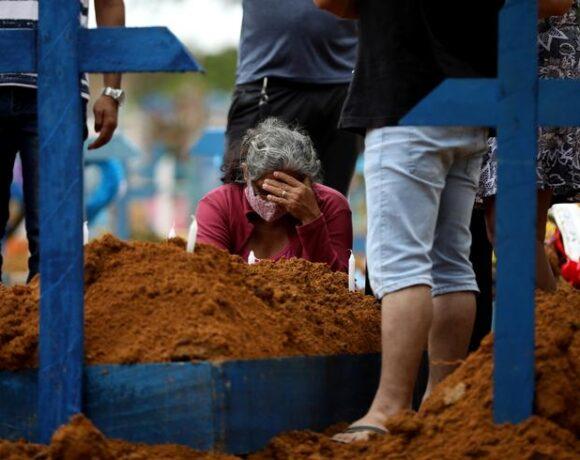 Κοροναϊός : Σταθεροποιείται ο αριθμός θανάτων και κρουσμάτων στη Βραζιλία