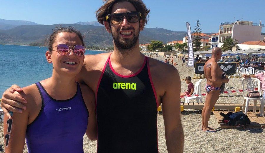 Κυνηγάκης-Λεμπλ πρωταθλητές Ελλάδας στη μαραθώνια κολύμβηση