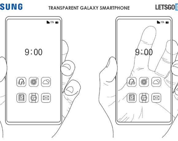 Νέα πατέντα της Samsung για διάφανο smartphone