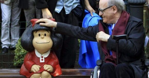 Πέθανε ο «πατέρας» της Μαφάλντα, ο σπουδαίος σκιτσογράφος Quino