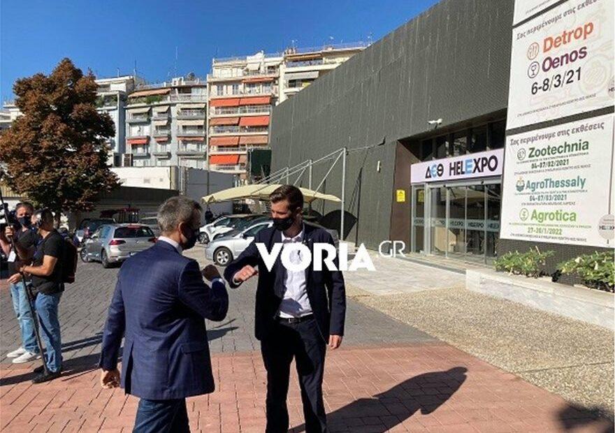 Στους χώρους της Διεθνούς Έκθεσης Θεσσαλονίκης ο Κυριάκος Μητσοτάκης