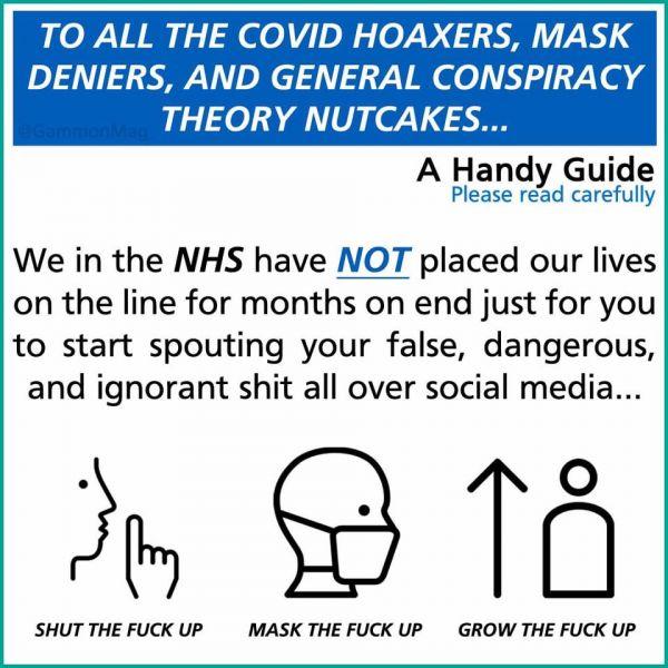 Συγκλονιστικό μήνυμα από τους γιατρούς στη Βρετανία: «Bάλτε τη γα…νη τη μάσκα!»