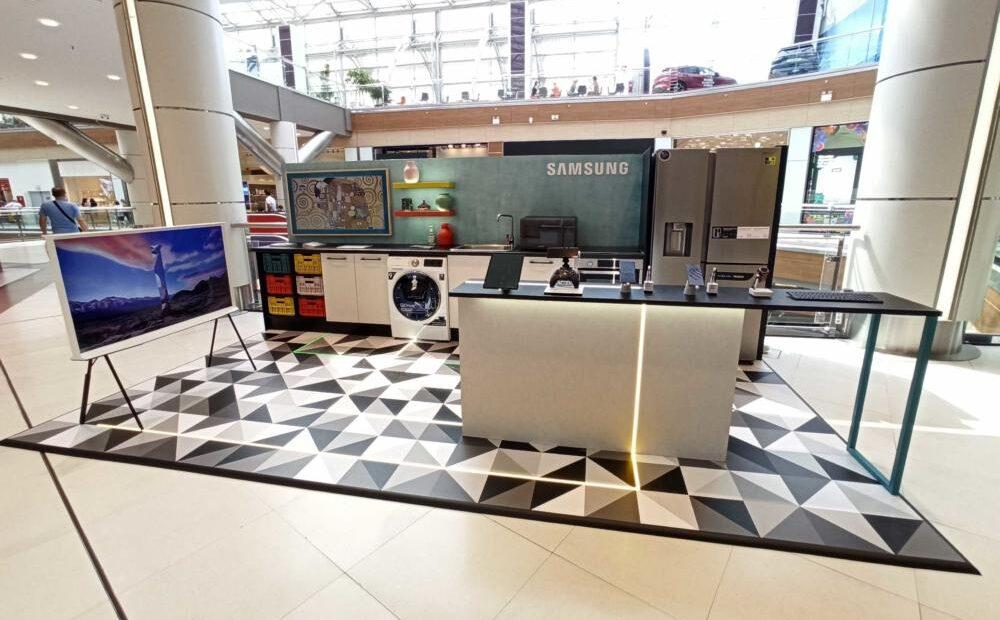 Το σπίτι του μέλλοντος στο The Mall Athens από τη Samsung