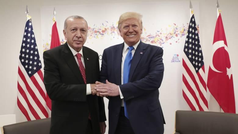 Τραμπ: Τα πάω καλά με τον Ερντογάν γιατί δεν μου αρέσουν οι εύκολοι ηγέτες…