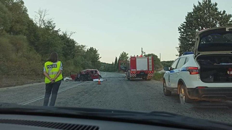 Τροχαίο με τέσσερις νεκρούς έξω από την Πρέβεζα