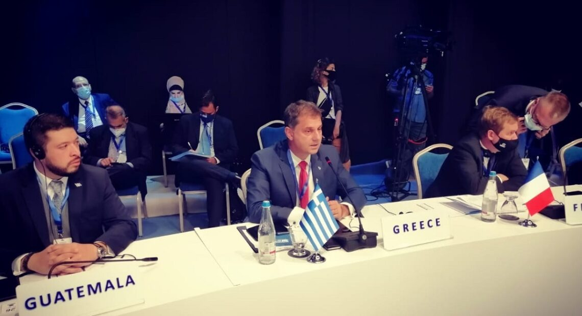 Greece Calls for Joint Covid-19 Health Protocols at UNWTO Meeting