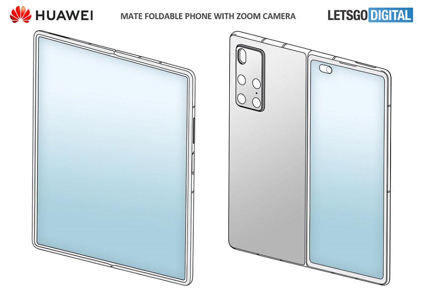 Huawei Mate X2: Αποκαλύφθηκε το design του μέσα από νέα πατέντα