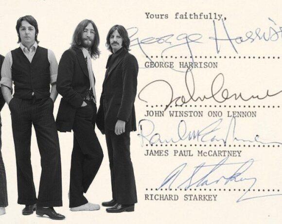 Sotheby's: Οργανώνει δημοπρασία με αφορμή τα 50 χρόνια από τη διάλυση των Beatles