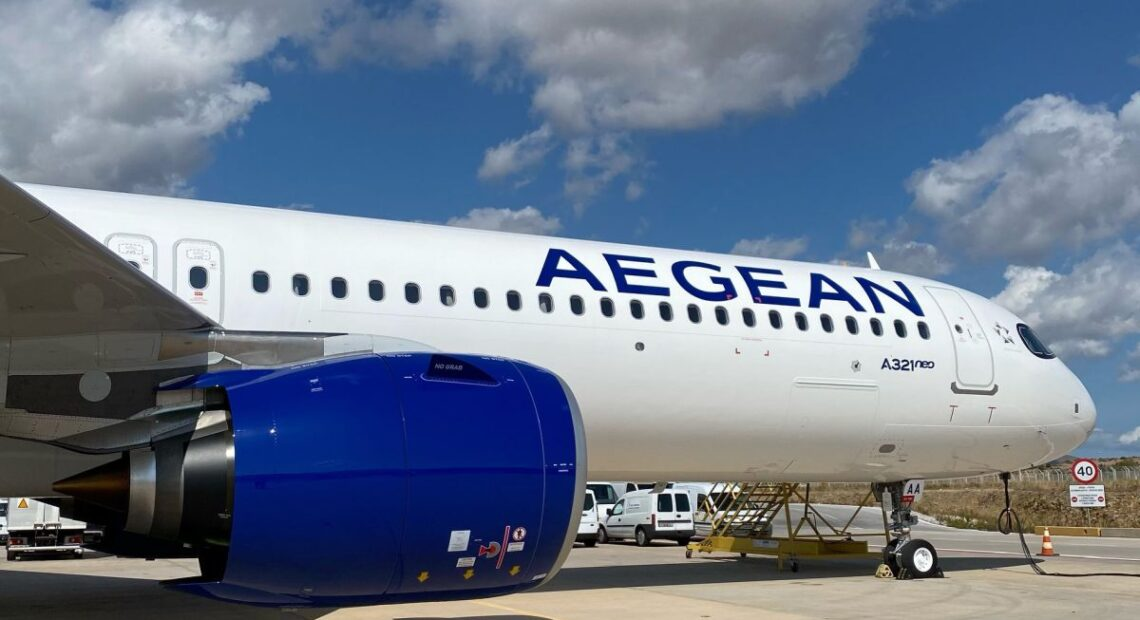 AEGEAN Receives its First Airbus A321neo
