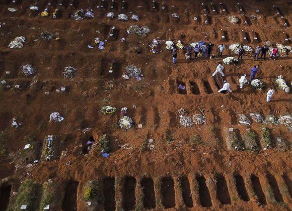 Βραζιλία : Επέστρεψε στα ρεκόρ κρουσμάτων κοροναϊού – Σταθερά υψηλός και ο αριθμός θανάτων