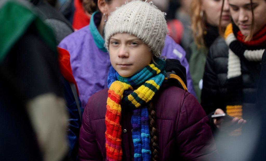 Γκρέτα Τούνμπεργκ : Οργανωθείτε και ψηφίστε Τζο Μπάιντεν