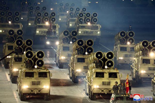 Διηπειρωτικό πύραυλο παρουσίασε η Βόρεια Κορέα – Άμεση αντίδραση των ΗΠΑ