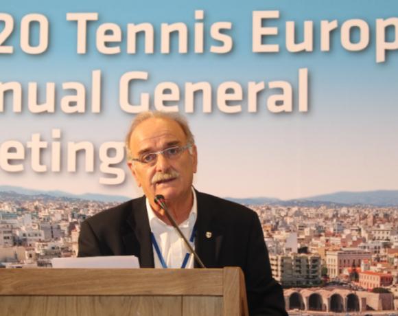 Εκλογή Ζαννιά στην ευρωπαϊκή ομοσπονδία τένις