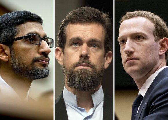 Ενώπιον της Επιτροπής της Γερουσίας Facebook, Twitter και Google