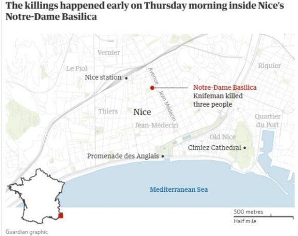 Επίθεση στη Νίκαια : Σοκαρισμένη η Γαλλία από την τρομοκρατική επίθεση του 21χρονου