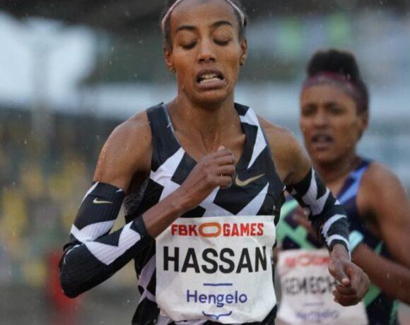 Ευρωπαϊκό ρεκόρ υπό βροχή η Χασάν στα 10