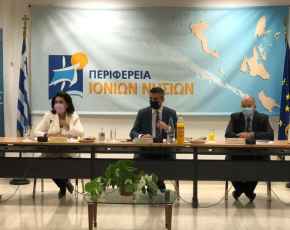 Κέρκυρα: Τη λειτουργία του Elevate Greece παρουσίασε ο υφυπουργός Ανάπτυξης Χρίστος Δήμας