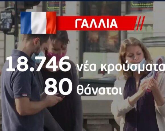 Κοροναϊός : Εκρηξη κρουσμάτων στην Ευρώπη – Ερχονται νέα μέτρα