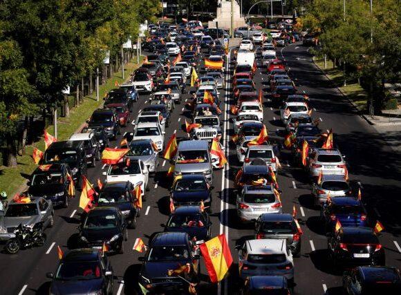 Κοροναϊός – Ισπανία : Πορείες κατά της καραντίνας, προκαλεί το ακροδεξιό VOX