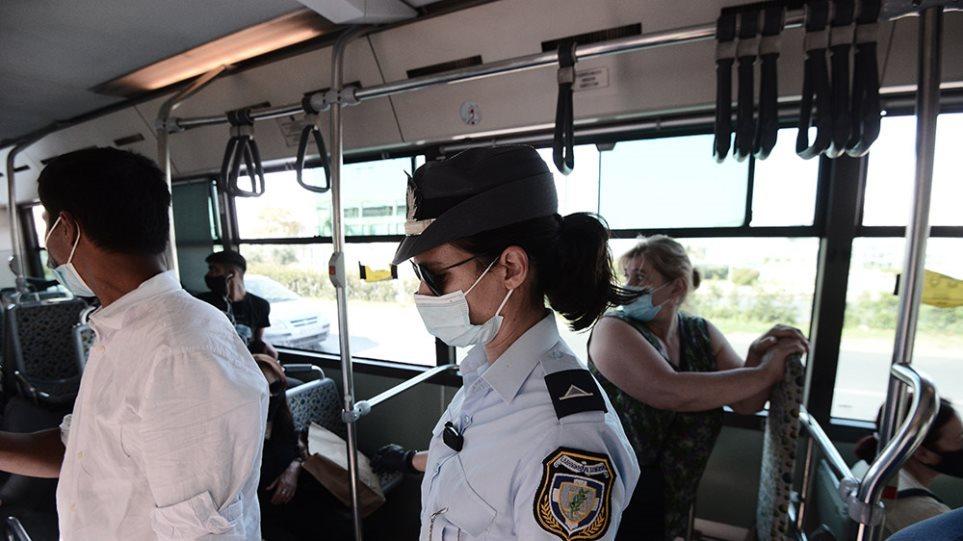 Κορωνοϊός: Υποχρεωτική η χρήση μάσκας σε εσωτερικούς και εξωτερικούς χώρους όπου υπάρχει συγχρωτισμός
