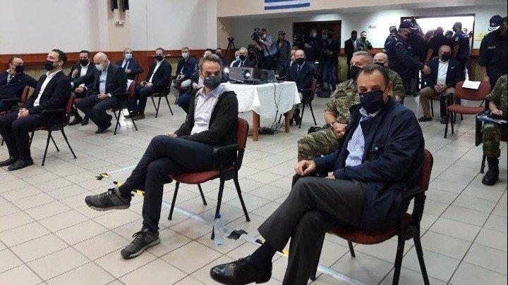 Μητσοτάκης: Ο φράχτης στον Έβρο το ελάχιστο που μπορούσε να κάνει η κυβέρνηση για να νιώθουν ασφαλείς οι Έλληνες πολίτες