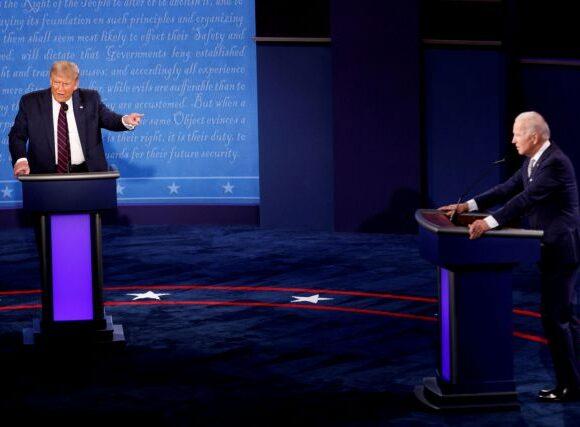 Μπάιντεν: Είμαι πρόθυμος να συμμετάσχω στο δεύτερο debate με Τραμπ