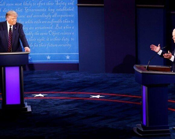 Νικητής ο Μπάιντεν και στο τελευταίο debate με τον Τραμπ: Τα βασικά σημεία