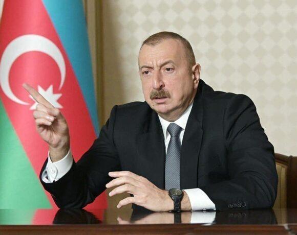 Ο πρόεδρος του Αζερμπαϊτζάν θέτει έναν όρο για κατάπαυση πυρός που δε θα ικανοποιηθεί