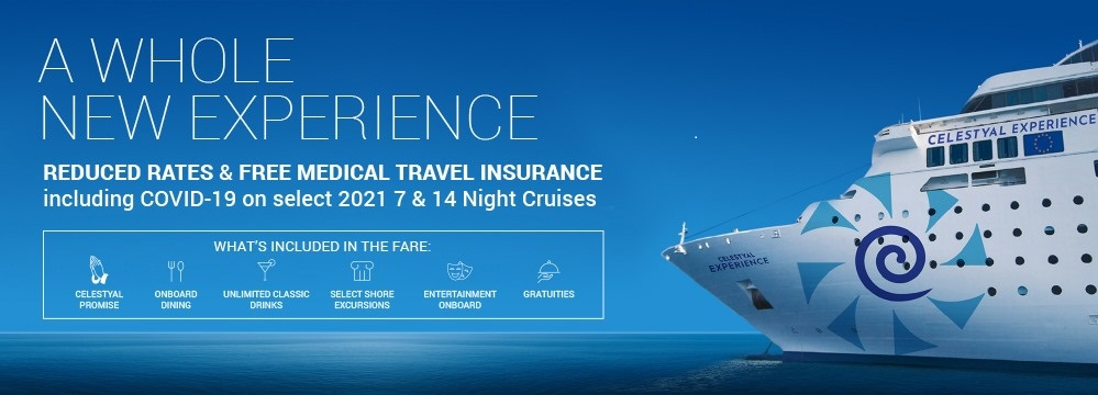 Celestyal Cruises Offers Complimentary Travel Insurance