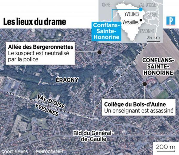 Παρίσι : Παγκόσμιο σοκ για την τρομοκρατική επίθεση – Προφυλακίστηκαν 4 άτομα, νεκρός ο δράστης