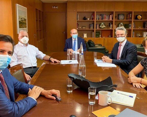 ΣΕΒ: Τι συζήτησαν με Χατζηδάκη και τι ζητούν οι βιομήχανοι από την κυβέρνηση